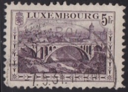 Luxemburg   .    Yvert   .   134       .    O     .          Gebruikt  .   /   .   Oblitéré - Luxemburg