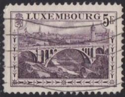 Luxemburg   .    Yvert   .   134       .    O     .          Gebruikt  .   /   .   Oblitéré - Luxembourg