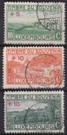 Luxemburg   .    Yvert   .   137/139       .    O     .          Gebruikt  .   /   .   Oblitéré - Luxemburg