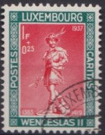 Luxemburg   .    Yvert   .   297        .    O     .          Gebruikt  .   /   .   Oblitéré - Luxemburg
