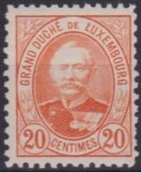 Luxemburg   .    Yvert   .    61      .   **       .       Postfris   .   /    .    Neuf** - 1891 Adolphe Voorzijde