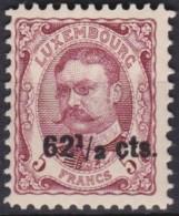 Luxemburg   .    Yvert   .    88     .   **       .       Postfris   .   /    .    Neuf** - 1914-24 Marie-Adelaide
