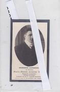 Paul Egide August Tack Geboren Herenthals Herentals 1887 Gesneuveld 4 /10 /18 Roeselare De Ruyter - Religion & Esotérisme