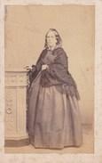 NAPLES NAPOLI Fotografia CDV Mme MARTORELLI Par Carlo FRATACCI Années 1860-1870 - Photographs