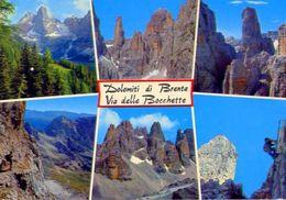 Dolomiti - Di Brenta Via Delle Bocchette - 220 - Formato Grande Viaggiata – E 2 - Italien
