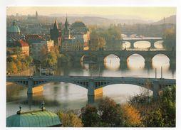 Tchéquie ---PRAGUE--2003--Vue Générale (ponts)--   Cachet  -- Joli Timbre - Tchéquie