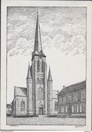 Beveren-Waas Haasdonk Sint-jacobuskerk Waasland A. Heirbouts Illustrator - Beveren-Waas