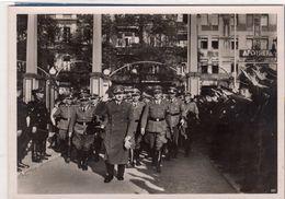 Foto Gruppenbild Politiker Hohe Generäle - Empfang ?? - Krieg, Militär