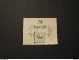 POLONIA - BF 1975 OLIMPIADI76 - NUOVO(++) - Blocks & Sheetlets & Panes