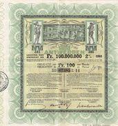 Obligatie Stad Antwerpen - Obligation Ville D' Anvers 2% 1903 -1993 - - Actions & Titres