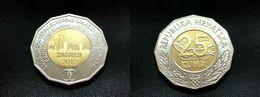25. KUNA  2010. - EBRD Bank *** UNC *** ( Croatia ) Bi-metallic Bimétallique Bimetalica Bimetallica Coin Monnaie - Croatia