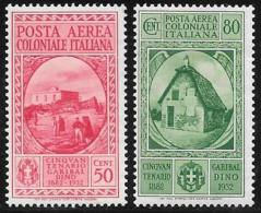 Italian Colonies General, Scott # C8-9 Mint Hinged Garibaldi, 1932 - General Issues