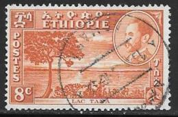 Ethiopia, Scott # 289 Used Lake Tana, 1947 - Etiopía
