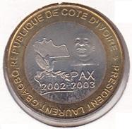 Ivory Coast - 6000 CFA 2003 Bimetallic Animals (Bird) - UNC - Ivory Coast