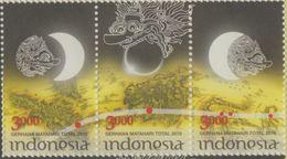Indonesia - Total Solar Eclipse 2016 (Stamps Set) - Indonésie