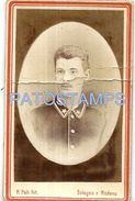 79373 ITALY BOLOGNA - MODENA COSTUMES SOLDIER PHOTOGRAPHER ROBERTO PELI BREAK 6.5 X 11 CM PHOTO NO POSTAL POSTCARD - Fotografie