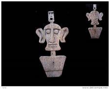 Plaque D'autel De Bornéo - Art Asiatique