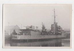 Warship D186 Plain Back Photo Card Shipping 144a - Guerre