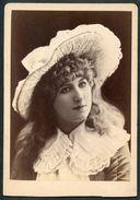 Foto, Schönes Mädchen Mit Hut, Schönheitsideal Um 1895 - Personnes Anonymes