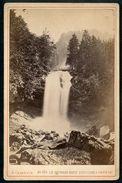 Foto, Le Giesbach Chute Superieure, Wasserfall, Brienz, Um 1900, F.Charnaux, Geneve - BE Berne