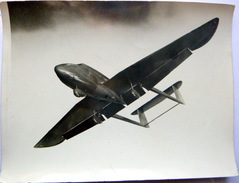 AVIATION 1930 PHOTO D'UN AVION EN VOL A IDENTIFIER   BEAU PLAN 18 X 13 CM - Aviation