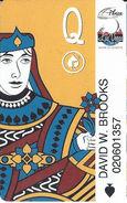 Plaza Casino / Las Vegas Club - Las Vegas, NV - Slot Card With Logo To Right - Casino Cards