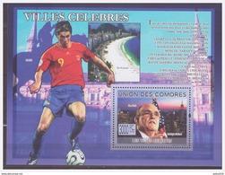 0177 Comores 2009 Voetbal Soccer Fernando Torres S/S MNH - Voetbal