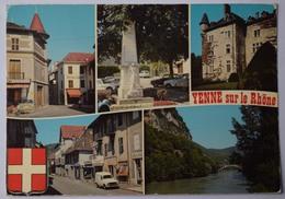 73 : Yenne - Château De Lagnieu - Monument Aux Morts - Vues Du Centre - Rhône Au Pont De La Balme - (n°9080) - Yenne