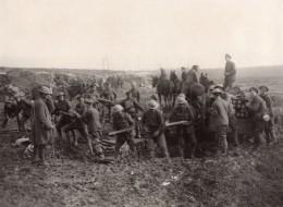 France WWI Front De L'Ouest Reserve De Bombes Obus Ancienne Photo 1914-1918 - War, Military