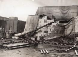 France WWI Front De L'Ouest Train Chargement Du Ravitaillement Ancienne Photo 1914-1918 - Guerre, Militaire