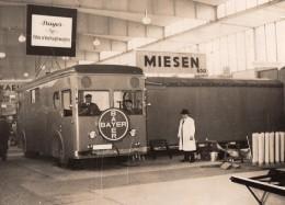 Allemagne Berlin Salon De L'Auto Camion Miesen Bayer Cinema Itinerant Ancienne Photo 1930's - Cars