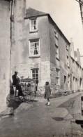 Royaume Uni? Petits Metier Aiguiseur De Couteaux Et Fillette Ancienne Photo 1920 - Professions