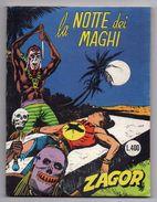ZAGOR - NR. 94 - LA NOTTE DEI MAGHI - COSTO LIRE 400 - VEDI FOTO - (FDC5735) - Zagor Zenith