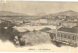 Genève  - Vue Générale   37 - GE Ginevra