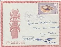 Nouméa Vallée Des Colons 1971 - Lettre - Covers & Documents