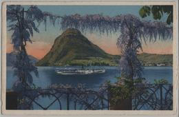 Lago Di Lugano E. Monte Salvatore - TI Tessin