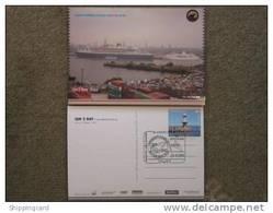 CUNARD QUEEN MARY 2 (QM2) AT QM2 DAY 2006 INC HANDSTAMP - Dampfer