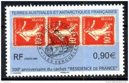 """TAAF N° 526 Timbres Sur Timbres 100eme Anniversaire Du Cachet """" RESIDENCE DE FRANCE """" Neuf ** - Terres Australes Et Antarctiques Françaises (TAAF)"""