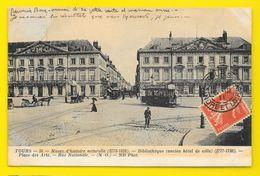 TOURS Tram Place Des Arts (ND Phot) Indre & Loire (37) - Tours