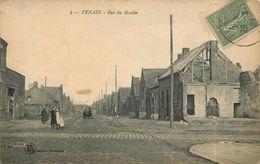 FENAIN - Rue Du Moulin (carte Vendue En L'état). - Unclassified