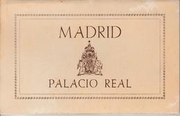 17 / 10 / 76  -  DÉPLIANT  MADRID  PALACIO  REAL  -PATRIMONIO  NACIONAL - Cartoline