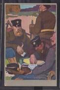 S33 /   Bahlsen Leibniz Keks Feldpostkarte / 1915 - Weltkrieg 1914-18