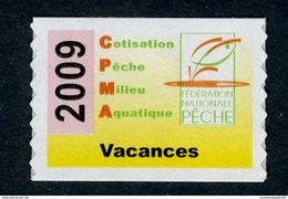 Timbre Fiscal De Pêche Neuf - Vacances - 2009 - Fiscale Zegels