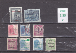 Marruecos Español  Tanger  -   Lote  9  Sellos Diferentes   -  10/9017 - Marruecos (1956-...)