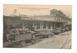 Champigneulles - Grandes Brasseries Et Malteries - Camions Automobiles - Andere Gemeenten
