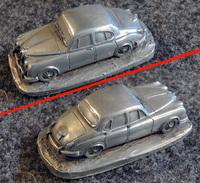 AUTOSCULPT - Ancienne Miniature En étain - DAIMLER V8 - - Echelle 1:87