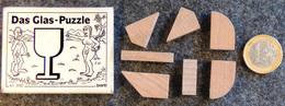 Casse-tête - Puzzle - Allemagne - DAS GLAS ( Adam & Eve ) Complet Dans Sa Boîte - En Bois - - Casse-têtes