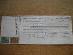 Lettre De Change De 1951 FABRIQUES D'ARMES UNIES DE LIEGE à L'ordre De KROMANTSI ANANA TRADING à ACCRA (GOLD COAST) - Lettres De Change