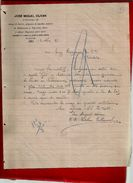 Courrier Espagne José Miguel Olivan Espolon Burgos 13-?-1897 - écrit En Espagnol - Espagne