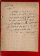 Courrier Espagne Lucas Palou ? Palon ? Viguera 30-11-1899 - écrit En Espagnol - Espagne